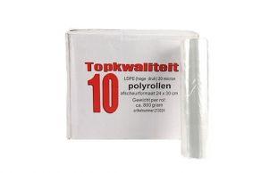 LDPE polyrol 30x24/20my perfo 800gr