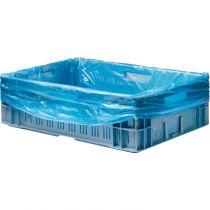 HDPE 68x17x63/20my kratzakken blauw