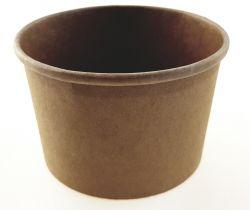Kraft paper cup 98x81x60   8oz/230ml
