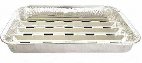 Aluminium Tray 230x147x30mm/gril open