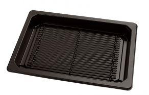 Sushi tray ZW 166x155+DE TR APET combi