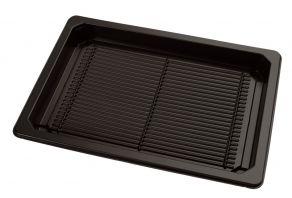 Sushi tray ZW 185x129+DE TR APET combi