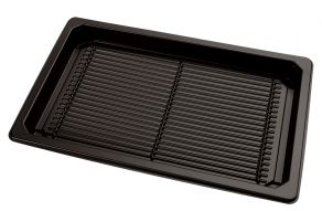 Sushi tray ZW 215x135+DE TR APET combi
